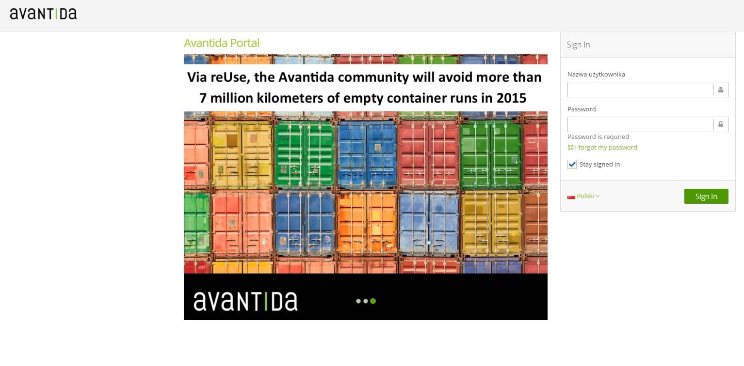 Avantida Portal