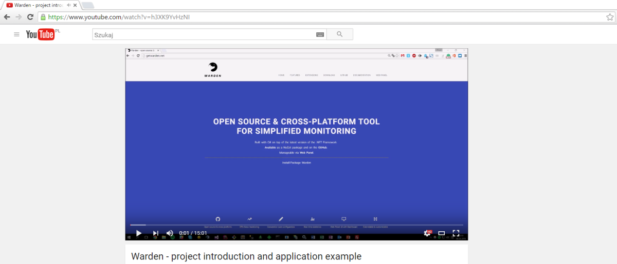 Warden screencast #1 – introduction and app example