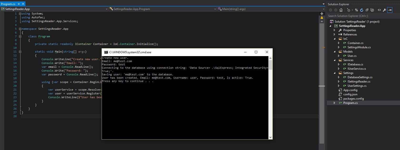 Storing C# app settings with JSON | Piotr Gankiewicz