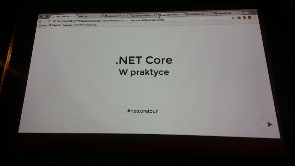 .NET Core Tour.